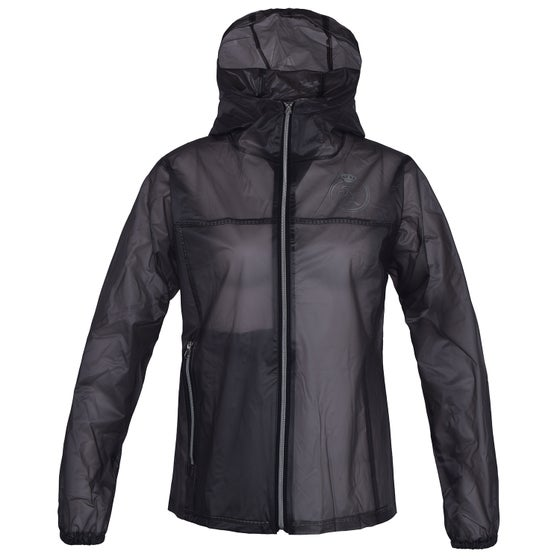 5a6ccda3140 Kingsland Equestrian Bastide Transparent Rain Ladies Riding Jacket - Black