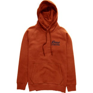 Deus Ex Machina Sunbleach Possibilities Hoody - Red Clay