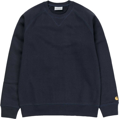 Carhartt 2018 Chase Sweater - Dark Navy Gold