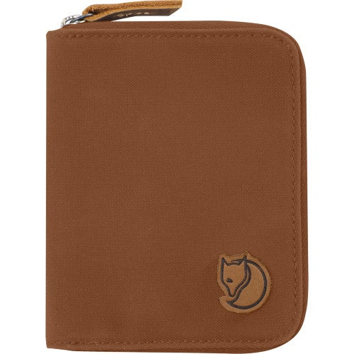 Fjallraven Zip Wallet - Chestnut