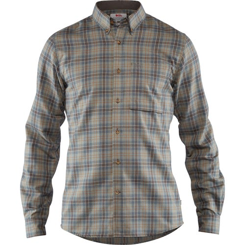 Fjallraven Stig Flannel Shirt - Ash Grey