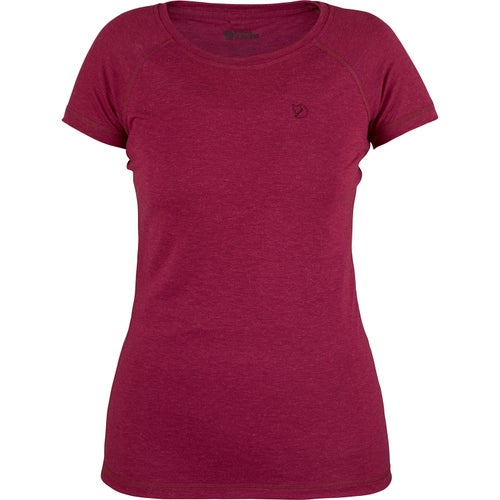 Fjallraven Abisko Trail Ladies T Shirt - Plum