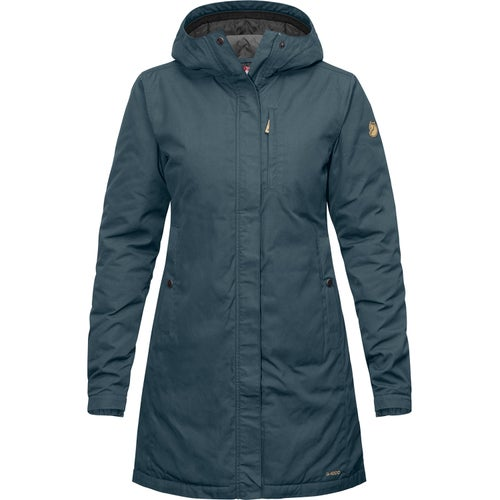 Fjallraven Kiruna Padded Parka Ladies Jacket - Dusk