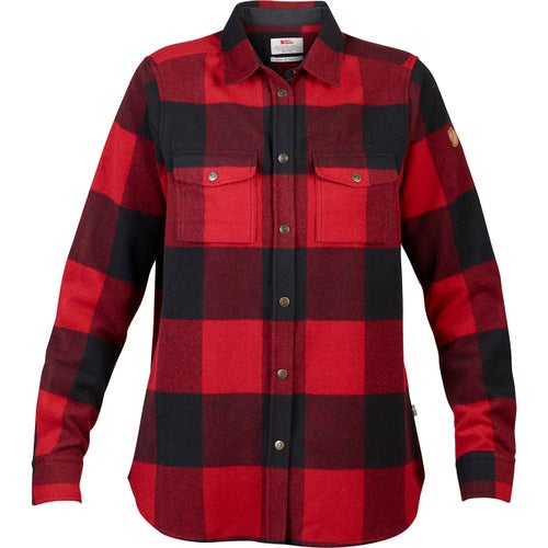 Fjallraven Canada Shirt Ls W Shirt - Red