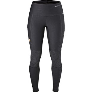 Fjallraven Abisko Trekking Tights Ladies Walking Pants - Black