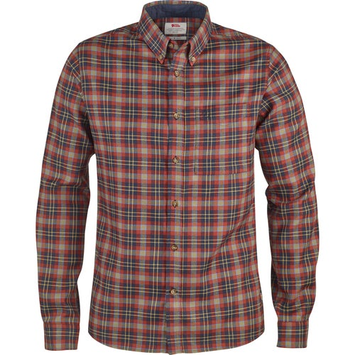 Fjallraven Stig Flannel Shirt - Autumn Leaf