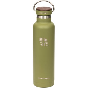 Earthwell Woodie Vb 22oz Water Bottle - Walnut Sequoia Pine
