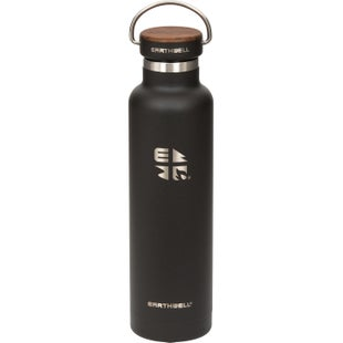 Earthwell Woodie Vb 22oz Water Bottle - Walnut/volcanic Black