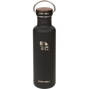 Earthwell Woodie Sw 27oz Water Bottle - Walnut volcanic Black