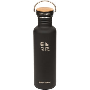 Earthwell Woodie Sw 27oz Water Bottle - Maple volcanic Black