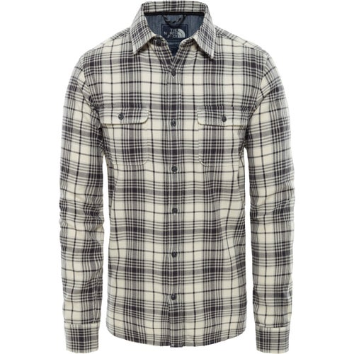 North Face Arroyo Flannel Shirt - Vintage Whte Larkspur Plaid
