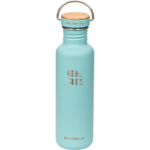 Earthwell Woodie Sw 27oz Water Bottle - Maple aqua Blue