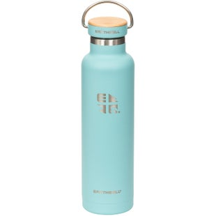 Earthwell Woodie Vb 22oz Water Bottle - Maple Aqua Blue