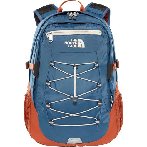 North Face Borealis Classic Backpack - Shady Blue Gingerbread Brown