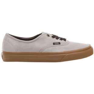 Vans Authentic Shoes - (Gum Outsole) Alloy Black