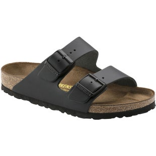 Birkenstock Arizona Nubuck Smooth Leather Ladies Sandals - Black