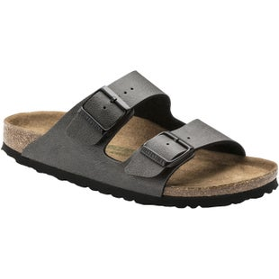 Birkenstock Arizona Birko Flor Vegan Sandals - Black