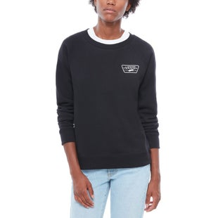 Vans Full Patch Raglan Crew Ladies Sweater - Black