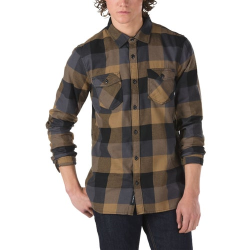 Vans Box Flannel Shirt - Dirt Black