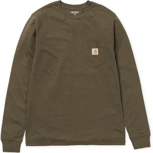 Carhartt Pocket LS T-Shirt - Cypress