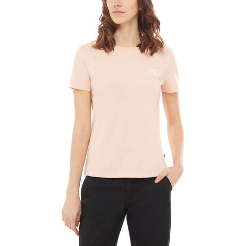 Vans Full Patch Crew Ladies T Shirt - Rose Cloud