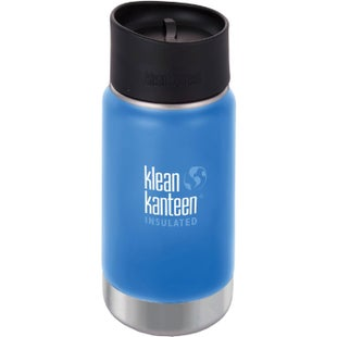 Klean Kanteen Vacuum Insulated Wide 355ml with Cafe Cape 2.0 Flask - Pacific Sky