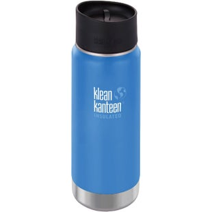 Klean Kanteen Vacuum Insulated Wide 473ml with Cafe Cape 2.0 Flask - Pacific Sky