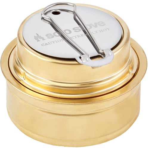 Solo Stove Alcohol Burner Camping Accessory - Brass