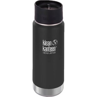 Klean Kanteen Vacuum Insulated Wide 473ml with Cafe Cape 2.0 Flask - Shale Black
