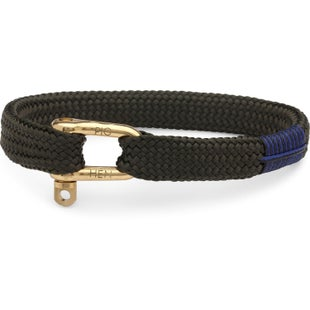 Pig and Hen Pegleg Pete Bracelet - Army Gold