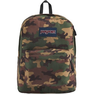 Jansport Superbreak Backpack - Surplus Camo