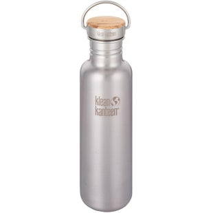 Klean Kanteen Classic Reflect 800ml Flask - Brushed Stainless
