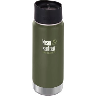 Klean Kanteen Vacuum Insulated Wide 473ml with Cafe Cape 2.0 Flask - Fresh Pine