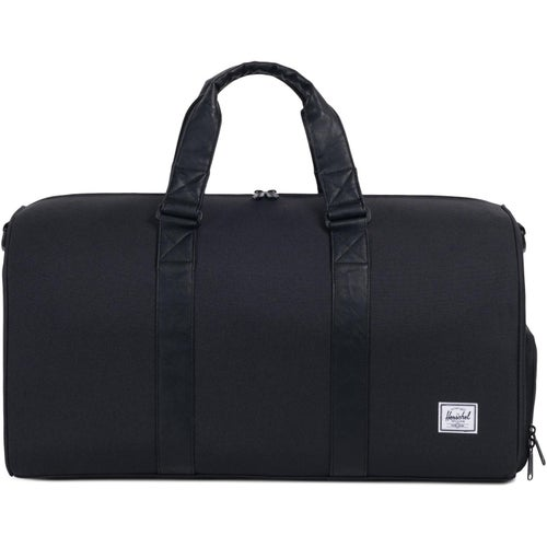 Herschel Novel Mid Volume Duffle Bag - Black Black Synthetic Leather
