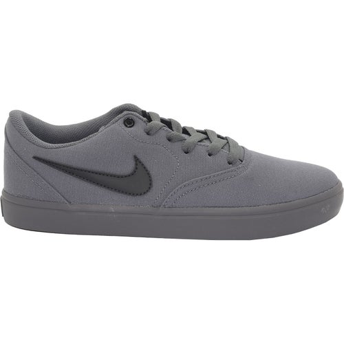 Nike SB Check Solarsoft Canvas Shoes - Dark Grey Black