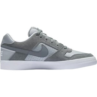 Nike SB Zoom Delta Force Vulc Shoes - Cool Grey Wolf Grey White