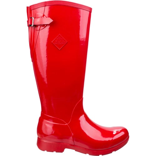 Muck Boots Bergen Tall Ladies Wellies - Red