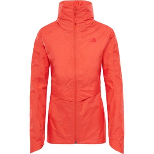 North Face Inlux DryVent Ladies Jacket - Fire Brick Red