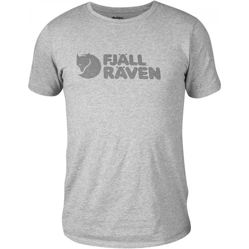 Fjallraven Logo T Shirt - Grey