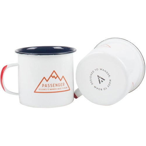 Passenger Clothing 3 Peaks Cup - White