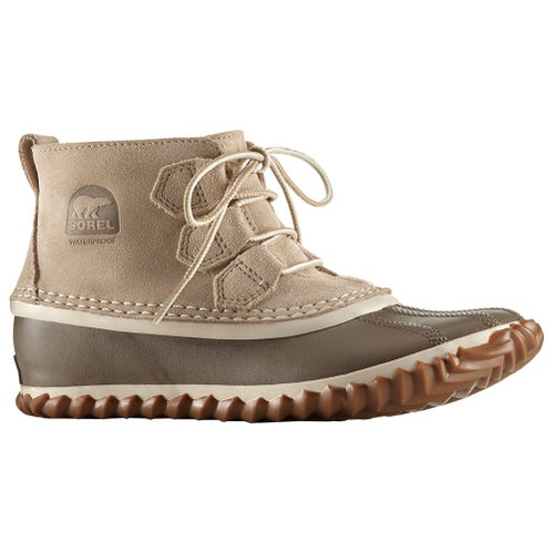 Sorel Out N About Rain Ladies Boots - Oatmeal Natural
