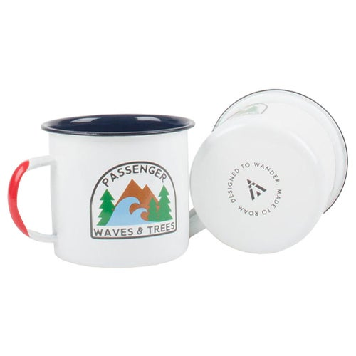 Passenger Clothing W and T Cup - White