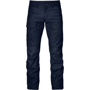 Fjallraven Nils Reg Leg Walking Pants - Dark Navy