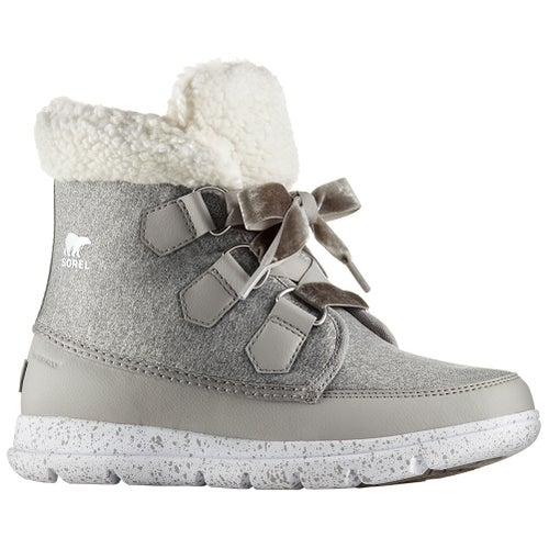 Sorel Explorer Carnival Ladies Boots - Dove White