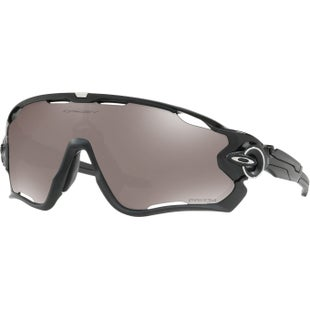 Oakley Jawbreaker Polarised Sunglasses - Polished Black ~ Black Iridium