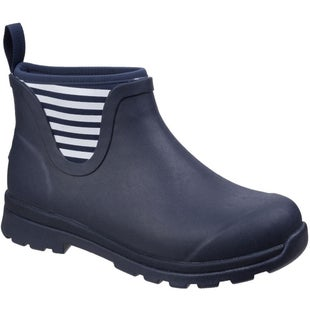 Muck Boots Cambridge Ankle Ladies Wellies - Navy White