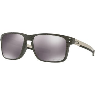 Oakley Holbrook Mix Sunglasses - Woodgrain ~ Prizm Black