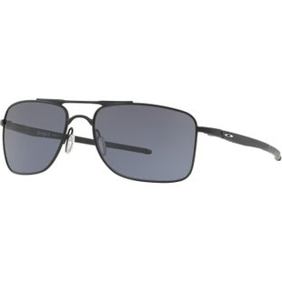 Oakley Gauge 8 Sunglasses - Matte Black ~ Grey