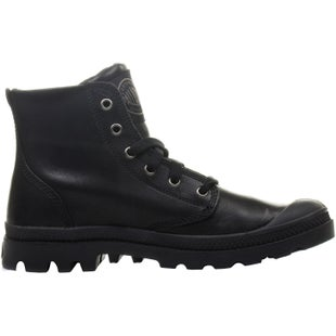 Palladium Pampa Hi Leather Boots - Black