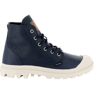 Palladium Pampa Hi Leather UL Boots - Dress Blue Birch
